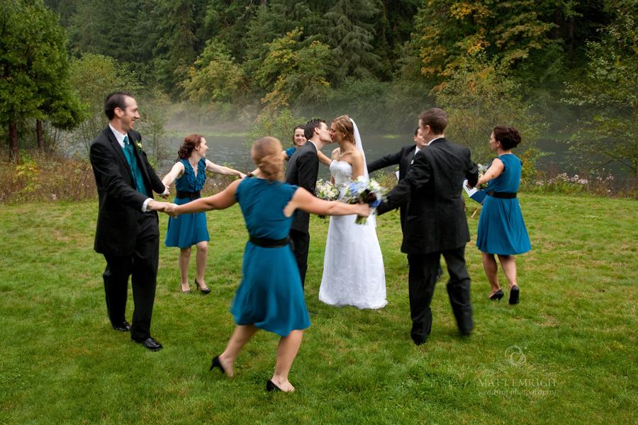 Wedding River Rocks Eagle Rock Lodge Wedding