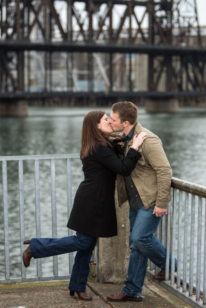 Portland Engagement Photo