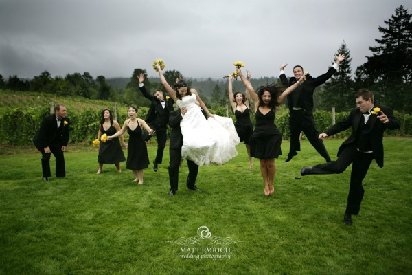 Beckenridge Vineyard wedding photographer, Matt Emrich Photo