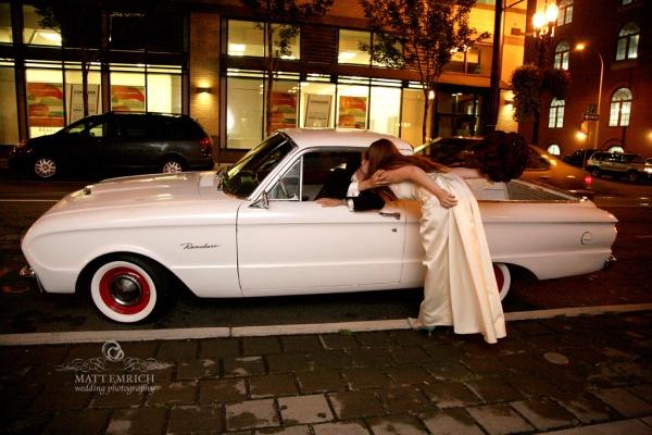 Portland wedding photographer, Matt Emrich Photo, Gerding theater wedding