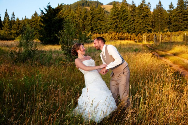 Mt Hood Organic Farms wedding, Matt Emrich Photo