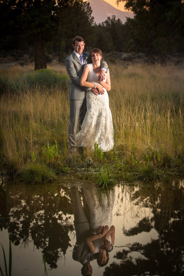 Bend wedding photographer