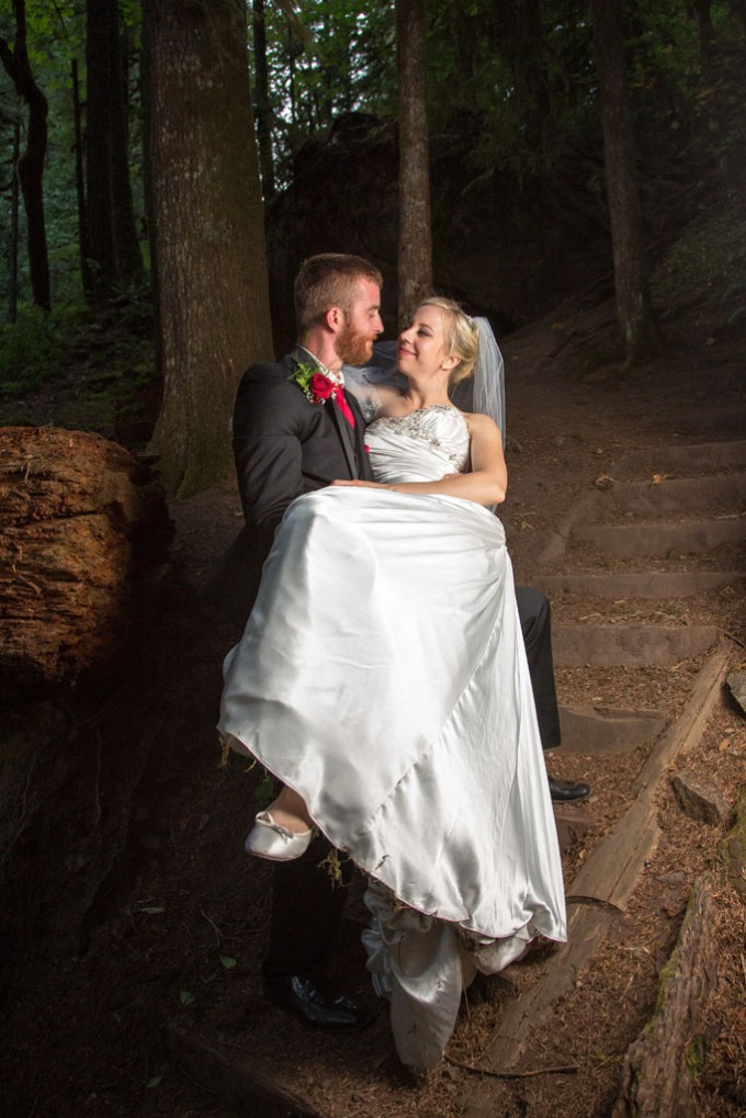 Wedding photographers in Eugene