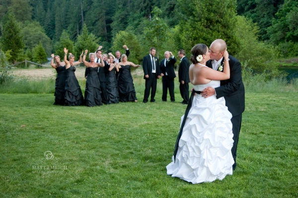Eagle Rock Lodge wedding, Matt Emrich Photo, wedding photographers in Eugene