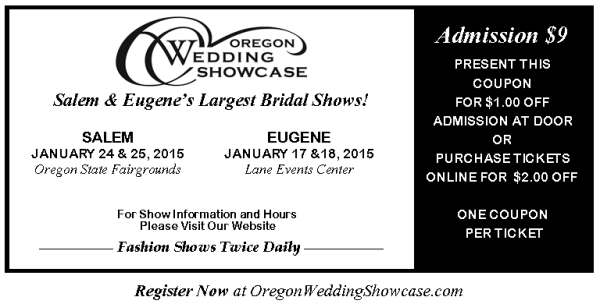 Oregon Wedding Showcase Coupon
