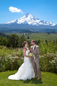 Mt Hood Organic Farms wedding photographer