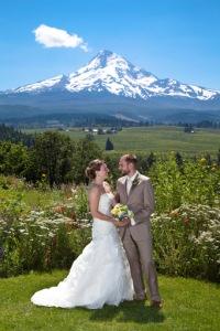 Mt Hood Organic Farms wedding photographer