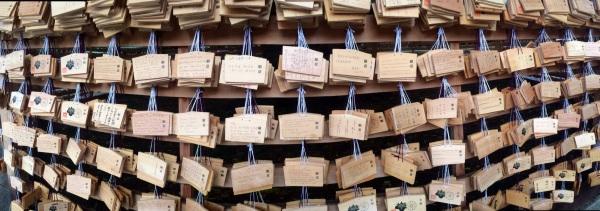 Meiji Jingu fortunes