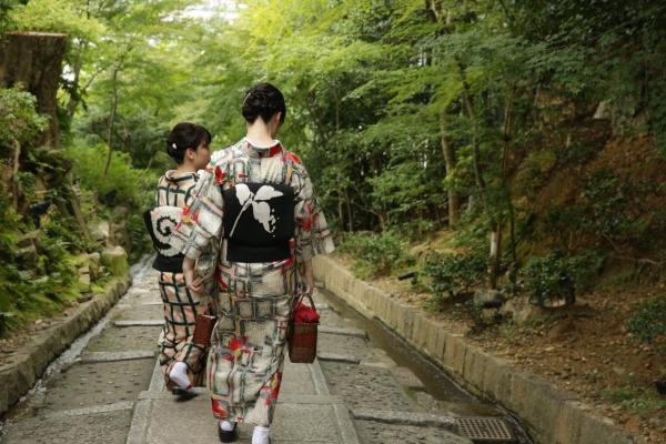 Kimono steps
