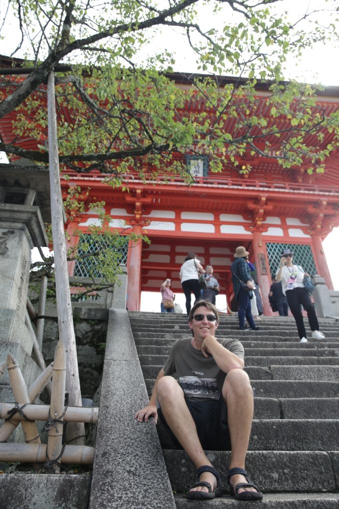 Matt at Kiyomizu