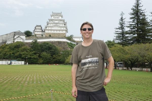 Matt at Himeji