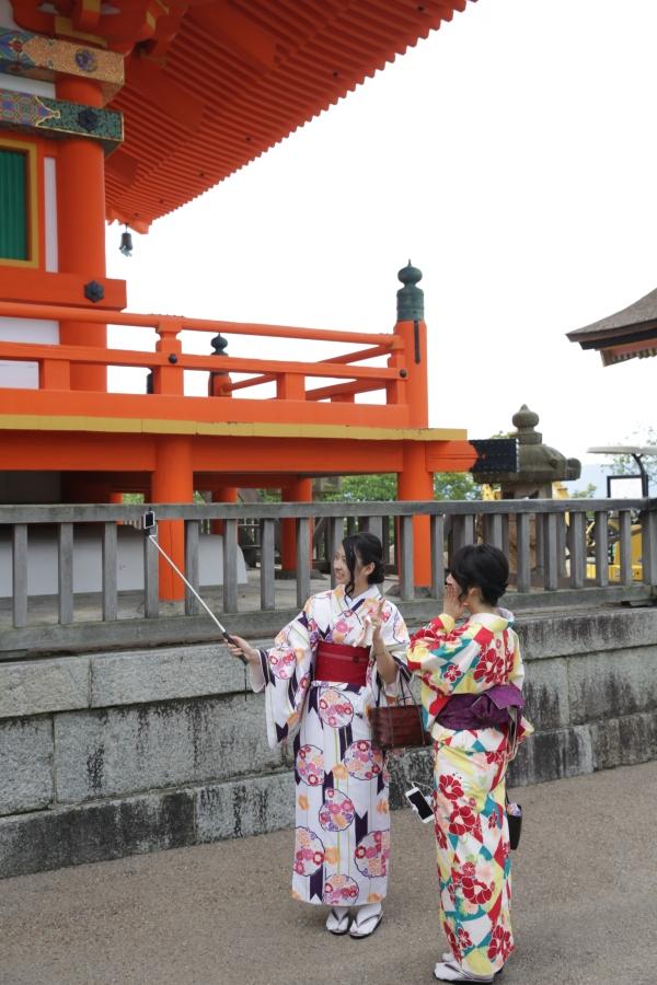 Kimono Selfie