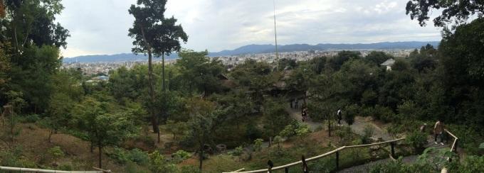 Kyoto Skyline, pano