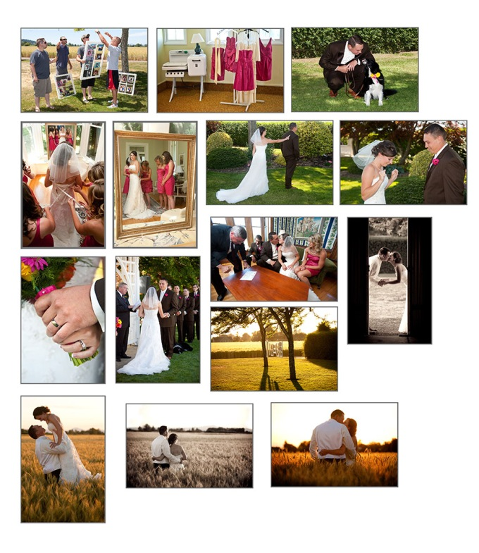Atavista Farms Wedding. Brownsville, OR